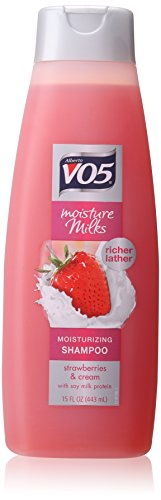 - Alberto V05 Moisture Milks Moisturizing Shampoo Strawberries & Cream, 15 Oz