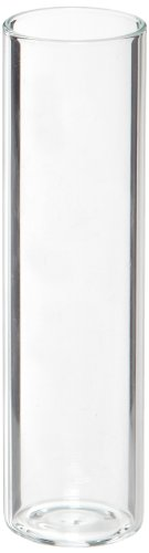 Shell Vials (Kimble Borosilicate Glass Short Style Shell Vial, Clear Plain Top without Closure 35mm Length, 0.5 dram Capacity (Case of 1,440))