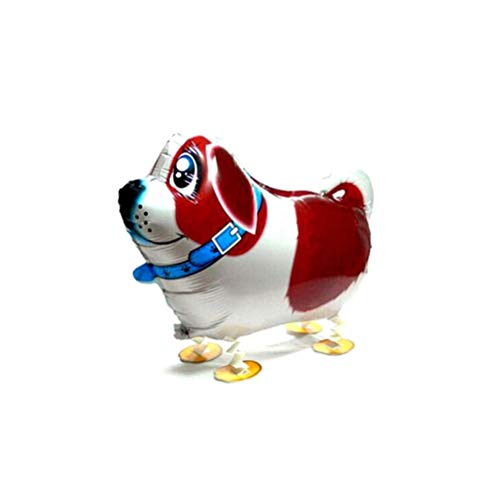 Balloon Balloon - 1pc Cute Walking Dog Balloon Air Pet Foil Gifts Kids Home Decoration - Walking Portable Compressor Measurement Timer Missile Size Airplane Helium Hand Supply Machine Tank -