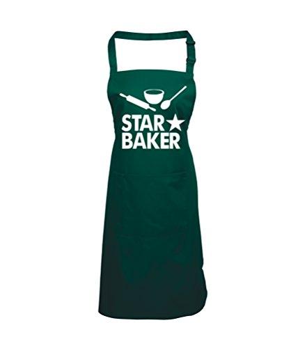 Edward Sinclair Star Baker Bottle Apron One Size Green