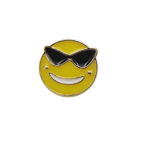 Rosemarie Collections Emoji Theme Enamel Pin - Sunglasses Womens Nordstrom