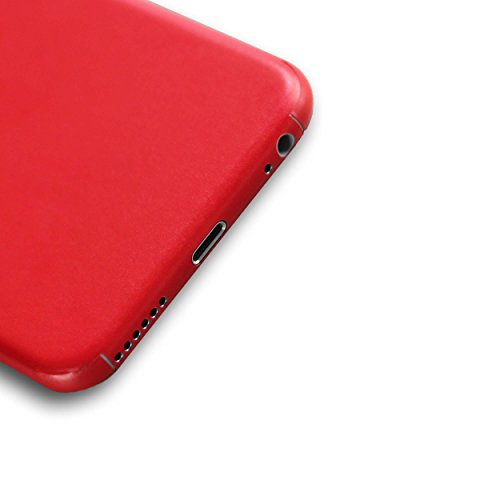 AppSkins Folien-Set iPhone 6 Full Cover - Color Edition red