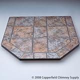 American Panel 40 sl tt Tartara Single Cut Corner Stove Board 40 Inch x 40 Inch For Sale