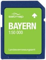 Satmap - Tarjeta con mapas de Alemania para GPS (Escala 1:50.000) Bayern Talla:1:25000: Amazon.es: Deportes y aire libre