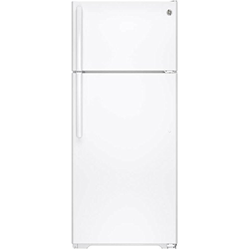 GE GTS18GTHWW 17.5 Cu. Ft. White Top Freezer Refrigerator