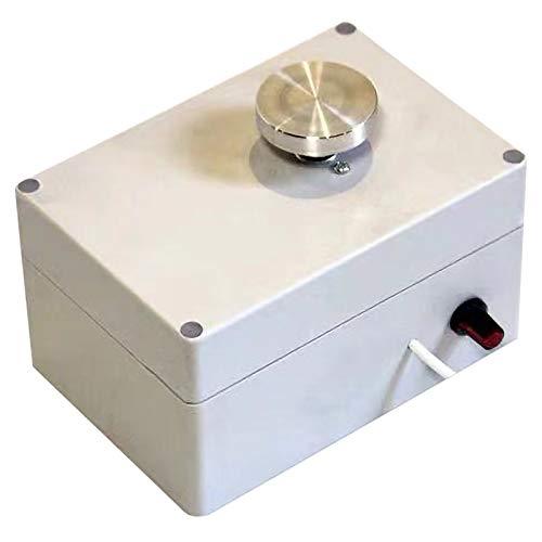 SODIAL 5V Usb Aluminum Alloy Fingertip Mini Pottery Wheel 4.5Cm Turntable Knob Stepless Speed Change