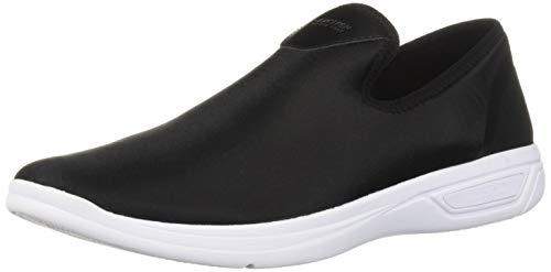 Kenneth Cole REACTION Women's The Ready Slip On Sneaker, Black Neoprene, 9 M US