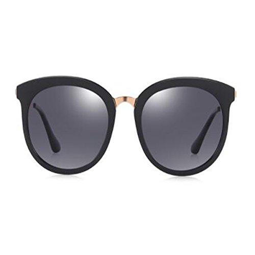 d2a17a8d9f Moda Gafas De Sol Polarizadas Femenino Masculino Ligero Retro Marco Redondo  Película Colorida Hipster Gafas De