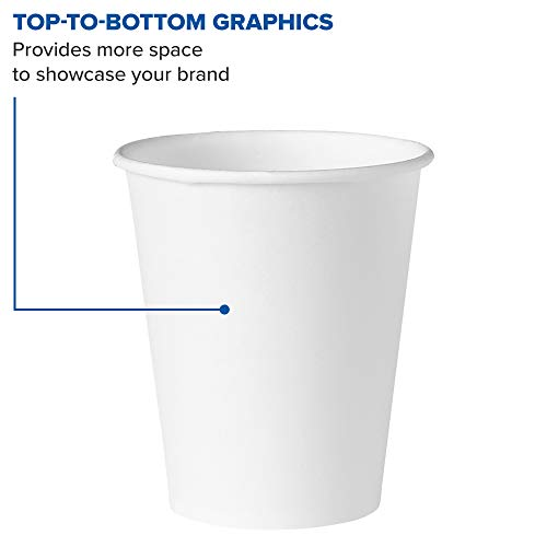 Solo 404-2050 4 oz White Treated Paper Cup (Case of 5000) by Solo Foodservice (Image #3)