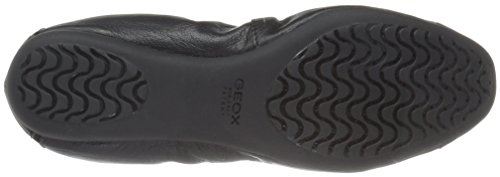 Geox Womens Wlola2fit1 Ballet Flat Black
