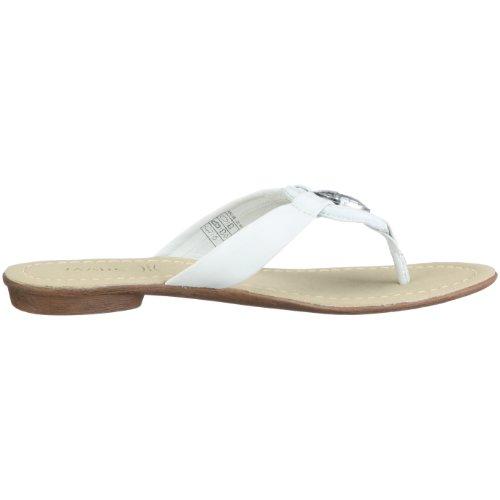Marc Shoes 1.450.08, Damen Sandalen/Zehentrenner Weiß (offwhite)