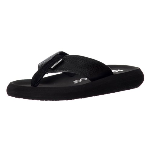 Rocket Dog Women's Sunset Webbing Flip Flops Black Scuba PU SZy7mgV