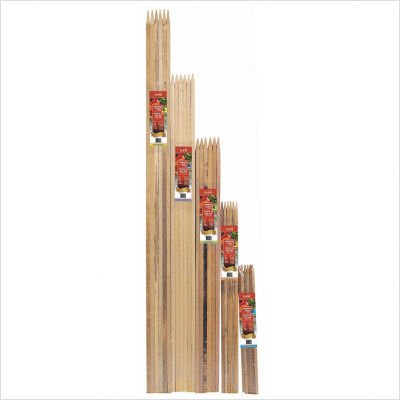 "Bond Manufacturing Co 96006 (6Pk) Hardwood Stakes, 0.75"" x 0.75"" x 6'"