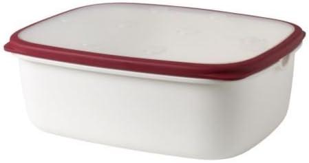 Ikea 365 Boite De Conservation Blanc Rouge Amazon Fr