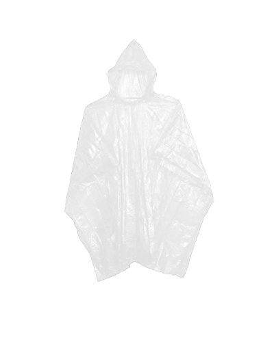 Sara Glove Emergency White Rain Ponchos - Lightweight & Disposable Bulk Case of 200...]()
