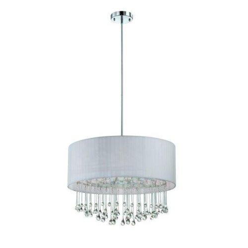 Eurofase 16035-034 Penchant 6-Light Round Pendant Chrome