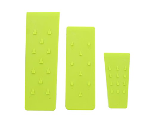 RC 7616 Spiked Felling Wedge Set, 5 8 and 10, ABS Plastic, L