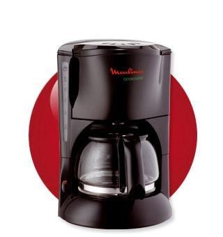 Moulinex FG511831 - Cafetera de filtro, 6 tazas, 600 W, dispositivo antigoteo