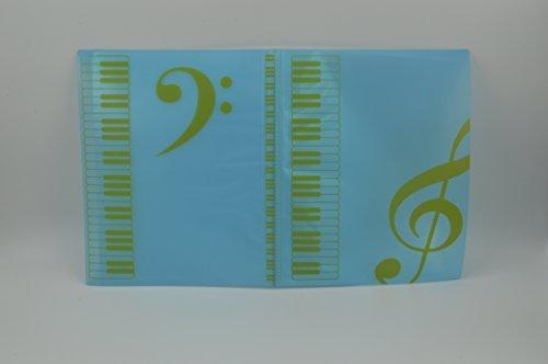 La banda de música Papelería Hoja A4Carpeta De Música Piano notas, carpetas para cualquier ocasión., Rosado