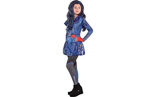Costumes USA Disney Descendants 2 Evie Costume for Girls, Size Extra-Large, Includes a Dress, Leggings, and Gloves
