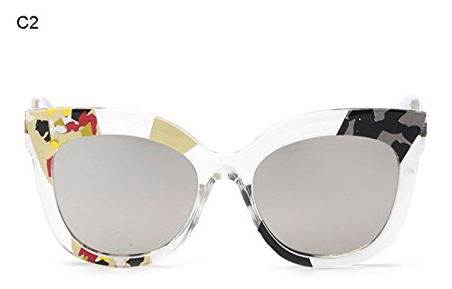 Lujo B Burenqi Retro de Gafas Sol A de Gafas Nuevas Mujer Las de de de Sol Marcas qqFaCx6H