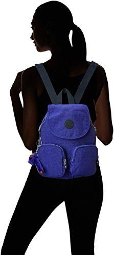 Kipling Damen Firefly Up Rucksack, 22x31x0.1 cm Violett (Summer Purple)