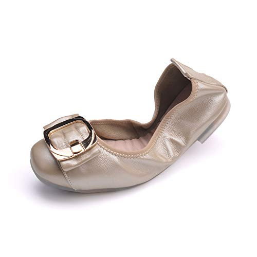 slip handbag shoes Foldable ladies comfortable pregnant FLYRCX casual A work your shoes women into shoes put single shoes non ballet shoes x7dwTqX