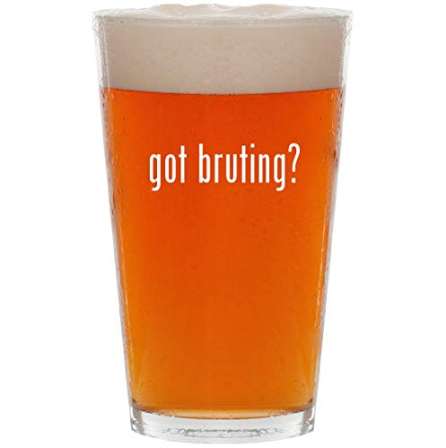 (got bruting? - 16oz All Purpose Pint Beer Glass)