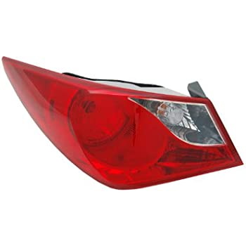 Genuine Hyundai 92450-3Q000 Tail Lamp Holder and Wiring Exterior Rear