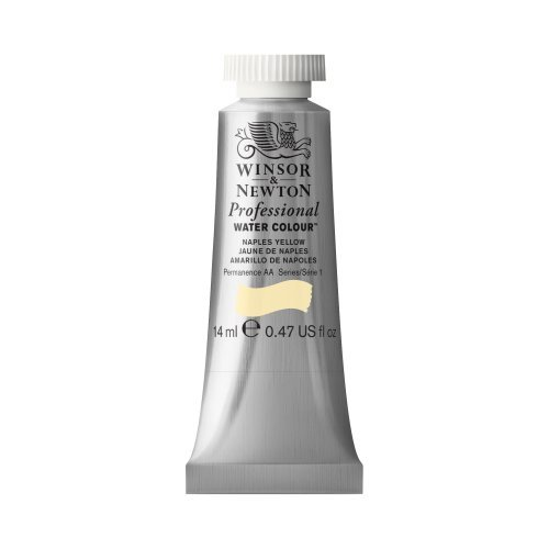 Winsor & Newton Artists' Water Colour Paint 14ml Tube - Naples Yellow by Winsor & Newton (Naples Yellow Tube)