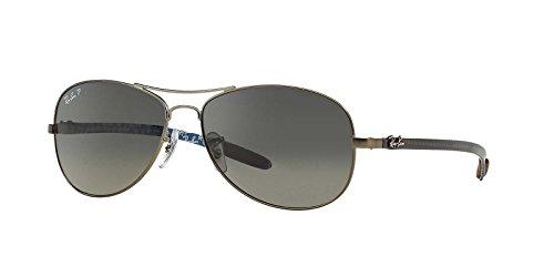 f27a6f73c93 Ray-Ban Sunglasses - RB8301   Frame  Matte Gunmetal (59mm) - Import ...