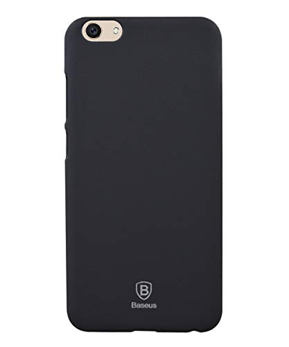 COVERBLACK Plastic Back Cover for Vivo V5s Perfect Selfie  1713    Black
