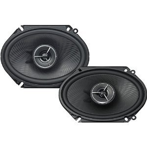 Kenwood Excelon KFC-X683C 6x8 Inch 2-Way Custom Fit Speaker System (Speakers For Ford Kenwood)