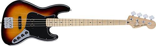 Maple Deluxe Bass (Fender 4 String Deluxe Active Jazz Bass, Maple Fingerboard, 3 Color Sunburst (0143512300)