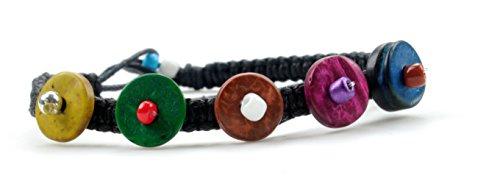 Fashion Colors macrame adjustable bracelet