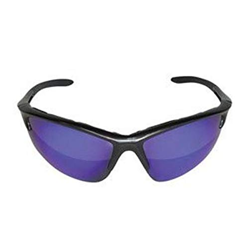 (Touch of Makeup DB2 Safety Glasses with Charcoal Frame and Purple Haze Lenses - Polybag)