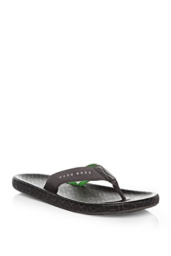 Hugo-Boss-Men-Toe-Separator-Sandals-with-Logo-Straps-Shoreline-Sunshine-Black
