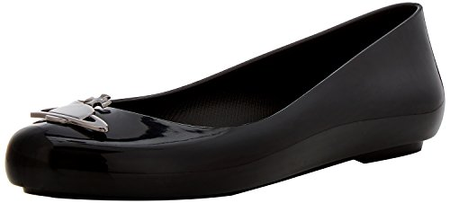 Vivienne Westwood En Melissa Damen Vw Ruimte Liefde 19 Pompen Zwart (black Orb)