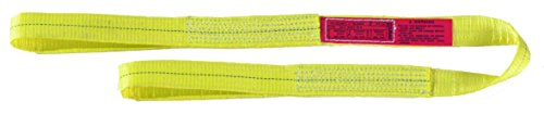 "UPC 697886264758, Liftall EE1802DFX10 Polyester Web Eye and Eye Sling, Flat Eye, 1-ply, 2"" x 10'"