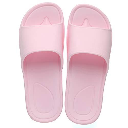 Baignoire Pink Slip Salle Féminins Modèles Pantoufles Ménage Fond Couleur Bains De Pink Couple Chaussures Non Confortable 37 38EU AMINSHAP Cool Doux Maison Taille qfvAxF