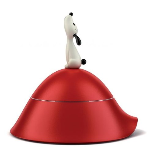 Cheap Alessi AMMI19 R Lula' Dog Bowl, red, red