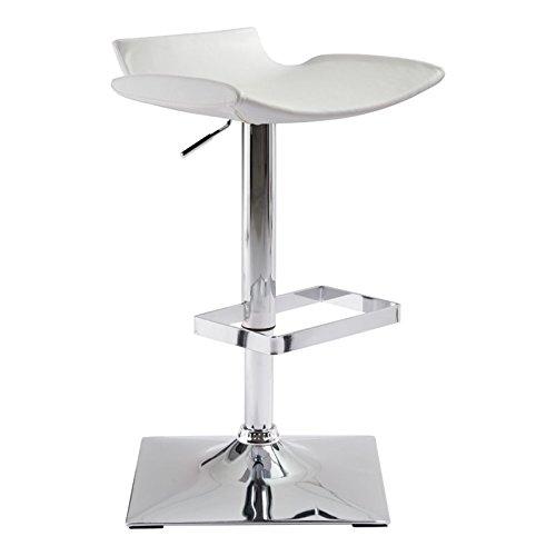 Magis Modern Chair (Zuo Modern 100608 Zuo Magi Bar Chair, Single, White)