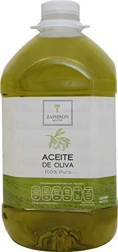 Zaphron Gourmet Aceite de Oliva Puro, 5 L