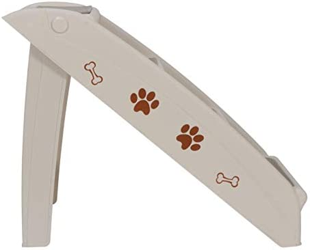 WUIIEN Foldable Dog Ramp Stairs Steps for Smaller Pets Pickup Travel Ladder MAX 100 LBs