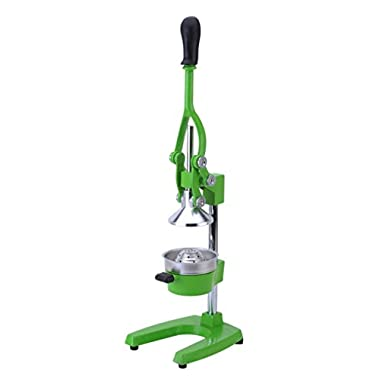 Commercial Manual Lever Press Citrus Juicer Heavy Cast Iron Steel Base and St...