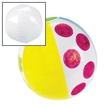 Fun Express Design Your Own Beach (White Inflatable Ball)