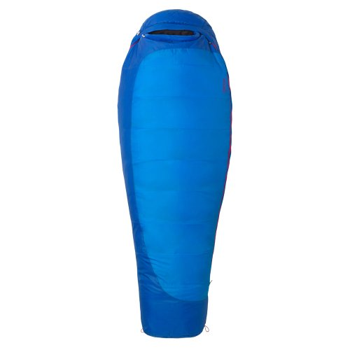 Marmot Women's Trestles 15 Long Synthetic Sleeping Bag, Long-Right, Blue, Outdoor Stuffs