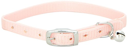 Catit Nylon Adjustable Cat Collar, Pink ()