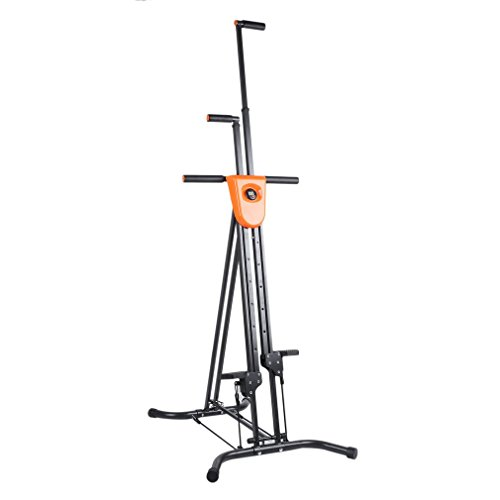 Homgrace Foldable Vertical Climber Cardio Exercise Full Body Fitness Workout for Home Gym (Black)