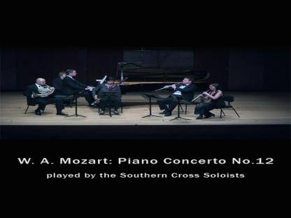 W. A. Mozart: Piano Concerto No.12 played by the Southern Cross Soloists